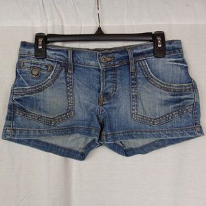 Lucky Brand Low Rise Slim Fit Jean Shorts 00/24